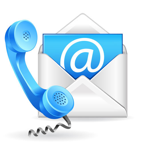 phone e mail logo